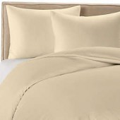 Wamsutta 400 Duvet Cover Set in Taupe