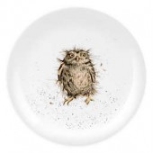 Portmeirion Wrendale Designs What a Hoot Dessert Plates (Set of 4)