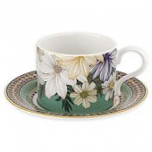 Portmeirion Atrium Teacup and Saucer