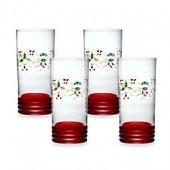 Pfaltzgraff Winterberry Cooler Glasses (Set of 4)