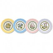 Portmeirion Botanic Garden Terrace Dessert Plates (Set of 4)