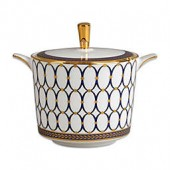 Wedgwood Renaissance Gold Covered Sugar Bowl