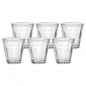 Duralex Picardie 3-1/4 Ounce Glasses (Set of 6)