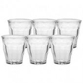 Duralex Picardie 5-3/4 Ounce Glasses (Set of 6)