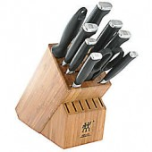 Zwilling J.A. Henckels Four Star II 10-Piece Knife Block Set