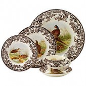 Spode Woodland Game Bird 5-Piece Place Setting