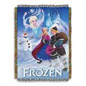 Disney Frozen Storybook Tapestry Throw