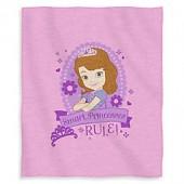 Disney Sofia Princess in Training Sweatshirt Throw
