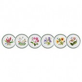 Portmeirion Exotic Botanic Garden Assorted Dinner Plates (Set of 6)