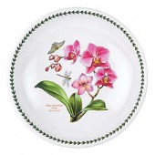 Portmeirion Exotic Botanic Garden Large Moth Orchid Low Pasta Serving Bowl