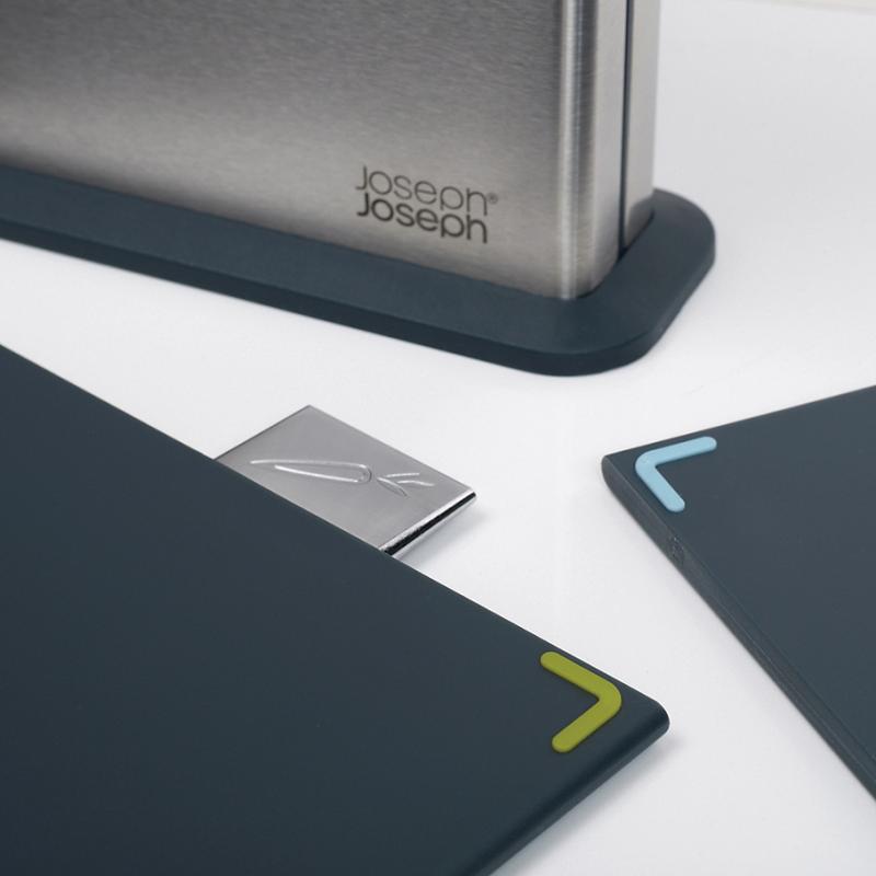 [조셉조셉] Joseph Joseph 100 Series 5-Piece Stainless Steel Index Chopping Boards Set