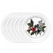 Portmeirion Holly & Ivy Salad Plate (Set of 6)
