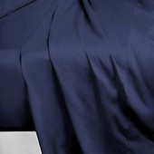 250-Thread-Count Cotton Percale Twin Flat Sheet