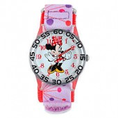 Disney Minnie Mouse Childrens 32mm Watch with Pink Strap