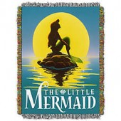 Disney The Little Mermaid Ariel Poster Tapestry Throw