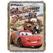 Disney Pixar Cars Greetings From Radiator Springs Tapestry Throw