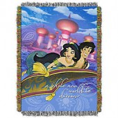 Disney Aladdin A Whole New World Tapestry Throw