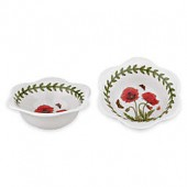 Portmeirion Botanic Garden Poppy Dip Bowls (Set of 2)