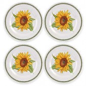 Portmeirion Botanic Garden Melamine Dinner Plates (Set of 4)