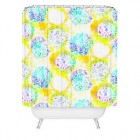 Deny Designs Cayenablanca India Dreams Shower Curtain in Yellow
