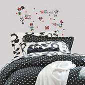 Minnie Rocks the Dots Peel and Stick Wall Decals