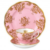 Royal Albert 100 Years 1960 Golden Rose 3-Piece Place Setting