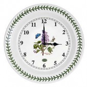 Portmeirion Botanic Garden 10-Inch Kitchen Wall Clock