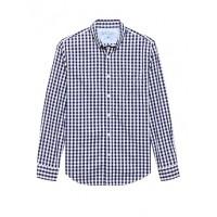 Grant Slim-Fit Luxe Poplin Gingham Shirt