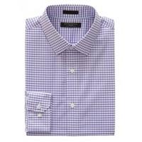 Grant Slim-Fit Non-Iron Gingham Shirt