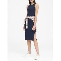 Rib-Knit Sheath Dress Online Exclusive