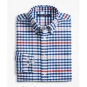 Boys Cotton Oxford Multi-Color Gingham Sport Shirt