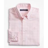 Boys Non-Iron Supima Cotton Gingham Sport Shirt