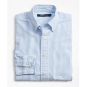 Boys Seersucker Stripe Sport Shirt
