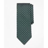 Herringbone Ground Mini-Flower Tie