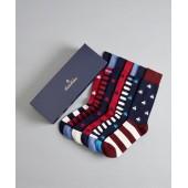 The All-American - Six-Pair Socks Gift Set