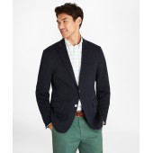 Regent Fit Two-Button Knit Blazer
