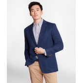 Regent Fit Cotton and Linen Blazer