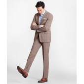 Regent Fit BrooksCool Brown Check Suit