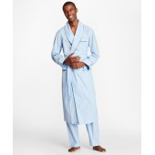 Multi-Stripe Robe