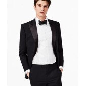 BrooksGate Regent-Fit Wool Tuxedo Jacket