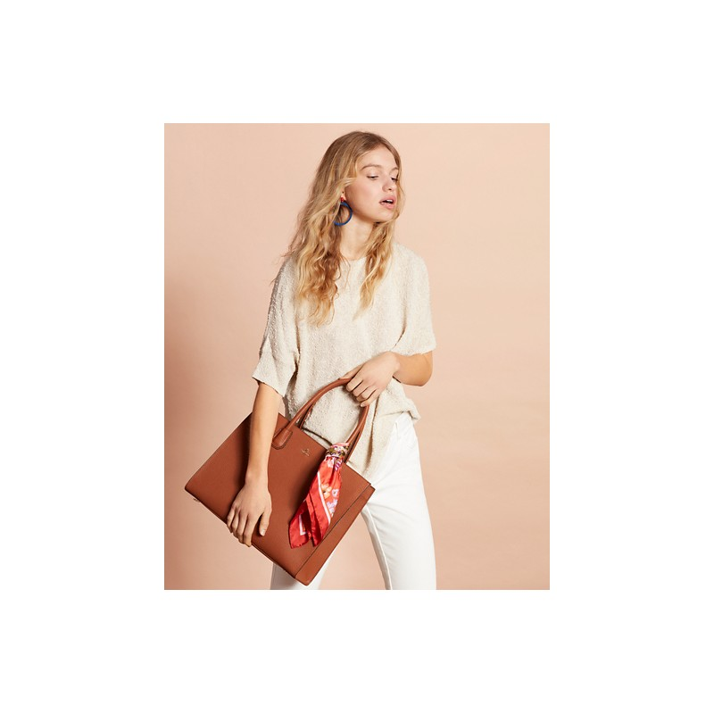 [브룩스 브라더스] Pebbled Leather Tote Bag