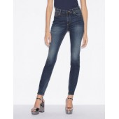 FIVE-POCKET SUPER SKINNY JEANS WITH HIGH WAIST