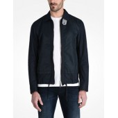 LINEN COTTON BLOUSON JACKET