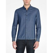 LONG SLEVE CHAMBRAY SHIRT