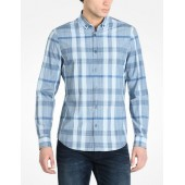 LONG SLEEVE SPACE DYED SHIRT