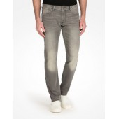 GREY WASHED FLEECE JEANS