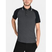 TWO-TONE MINI A|X PRINT POLO