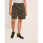 GEO CAMO BLOCKED SWEATSHORT