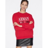 ROUND NECK SWEATSHIRT WITH LOGO LETTERING