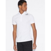 POLO SHIRT WITH DESIGN ON SHOULDER